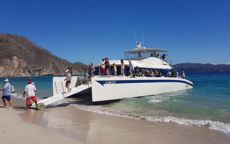 Catamaran Tour Tortuga Island Costa Rica, Costa Cat Los Sueños Marina, Full Day Tour